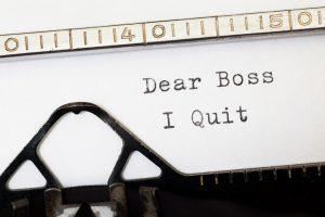 Sklover Working Wisdom Resigning I Quit