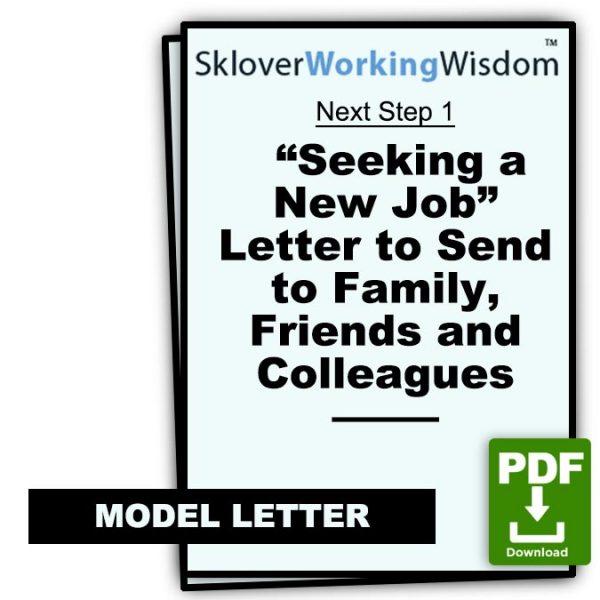 Sklover Working Wisdom Job Search Next Step 1