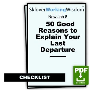 50 Good Reasons to Explain Your Last Departure