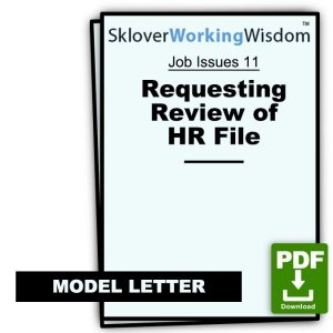 Requesting Review of HR File