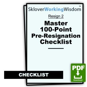 Master 100-Point Pre-Resignation Checklist