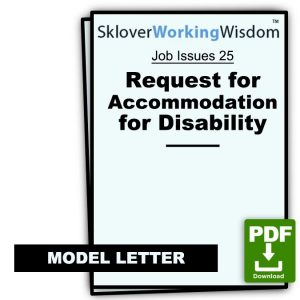 Request for Accommodation for Disability