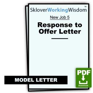 Model Response to Offer Letter