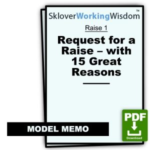 Request for a Raise – with 15 Great Reasons