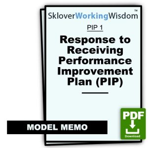 Model Response to Receiving a PIP