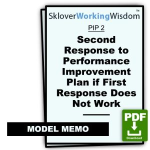 Model Second Response to Use if First Response Does Not Work