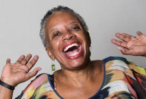 Sklover Working Wisdom Big Smile Woman